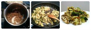 Como preparar arroz integral con lentejas y calabacín