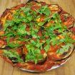 Pizza italiana lenta fermentación