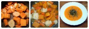 Cómo preparar una crema de verduras sin lactosa