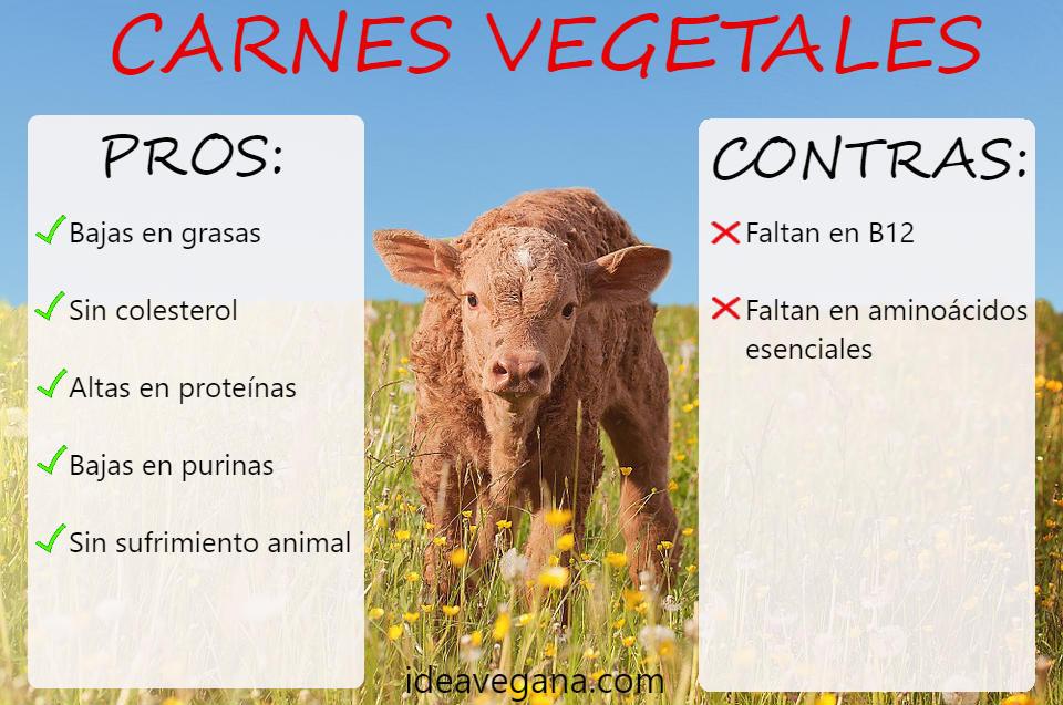 Ventajas y desventajas de la carne vegana