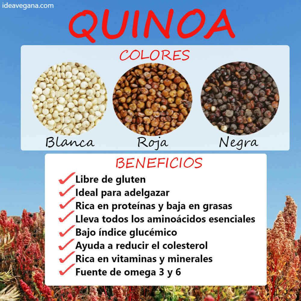 Propiedades y variedades de la quinoa