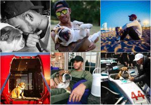 Las fotos del perro de Hamilton