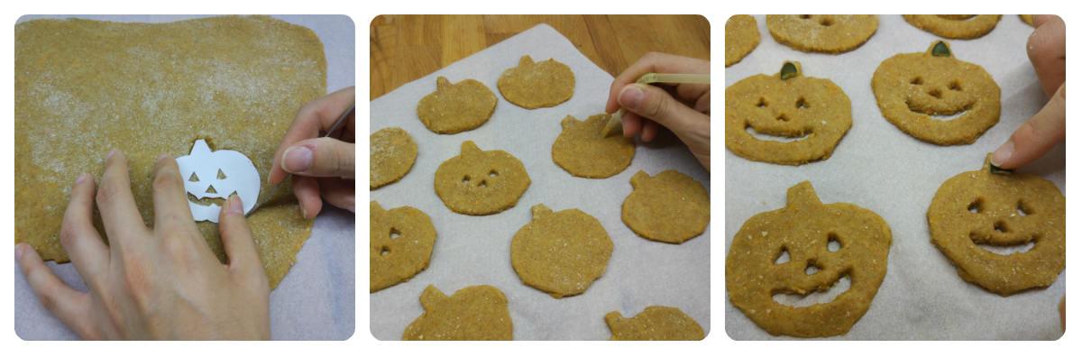 Cómo hacer galletas de Haloween sin molde