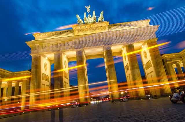 Puerta de Brandeburgo en Berlin