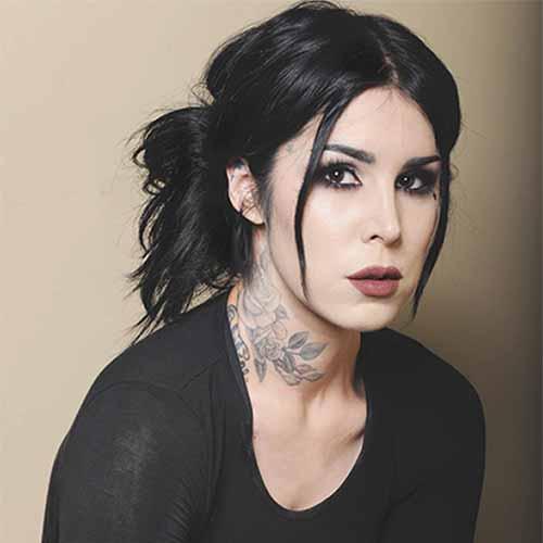 Kat Von D tatuadora vegana