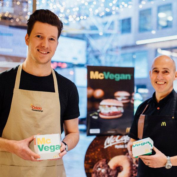 Hamburguesa vegana de McDonald's en Suecia y Finlandia
