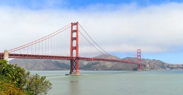 Puente Golden Bridge en San Francisco