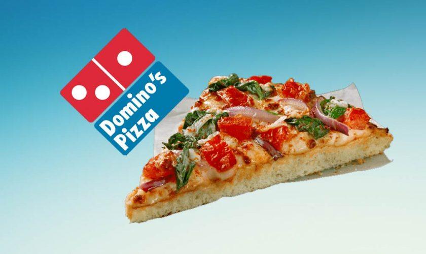 Dominos Pizza Vegana