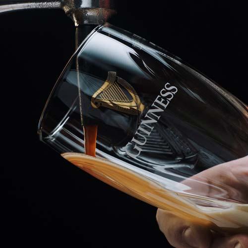 Cerveza Guinness vegana de barril