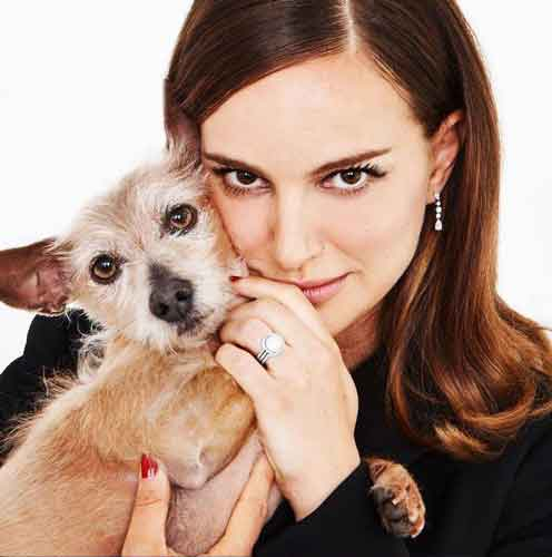 La actriz vegana Natalie Portman