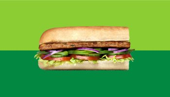 Subway Vegan Delite