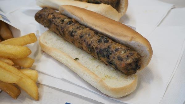 Perrito caliente de Ikea apto para veganos y vegetarianos