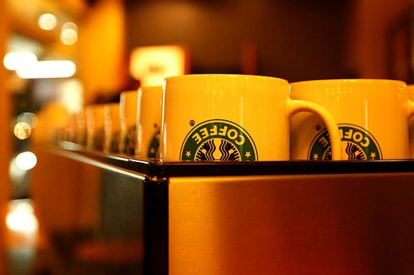 Comida y bebidas veganas en Starbucks