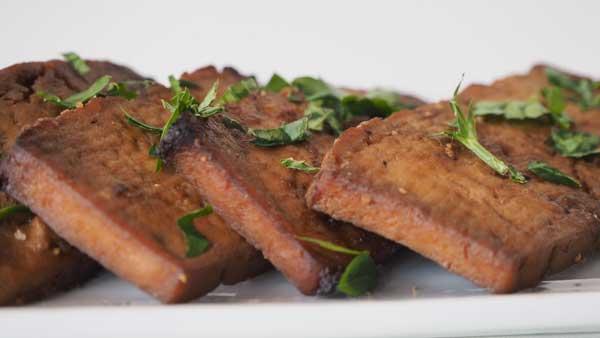 Como hacer el tofu marinado al horno o pasado por la sartén