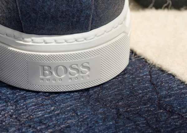 Zapatillas elegantes veganas de Hugo Boss