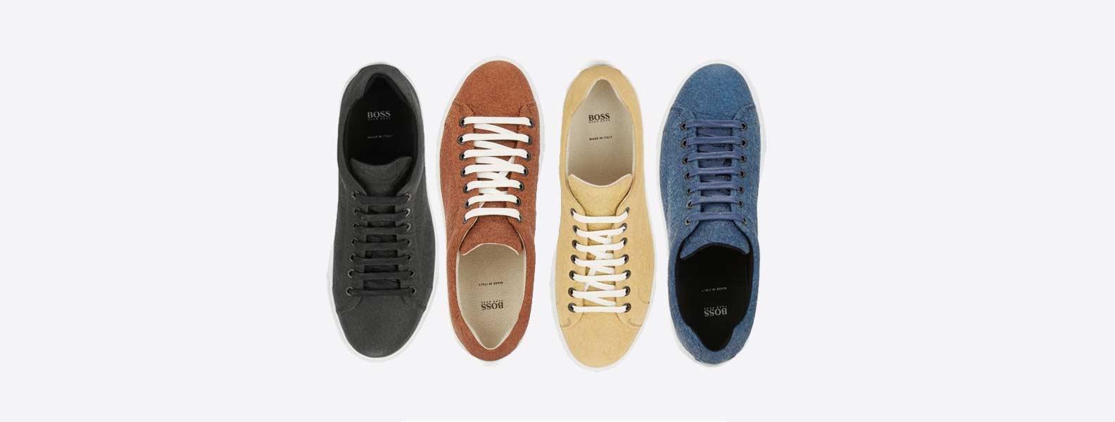 e9956e496 Hugo Boss lanza una linea de zapatos veganos en Piñatex - Idea Vegana