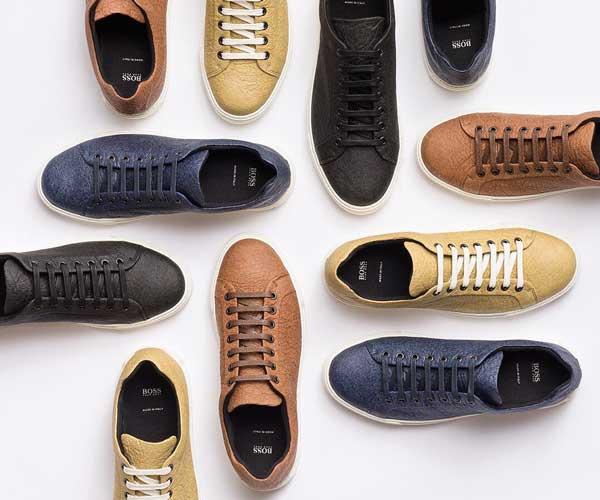 Colores de las zapatillas veganas Hugo Boss