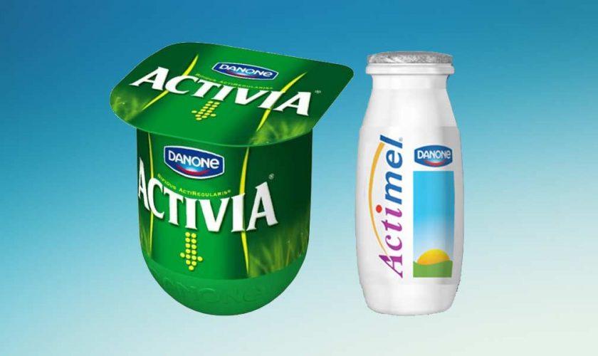 Danone Yogures Vegetales – Activia Actimel Veganos