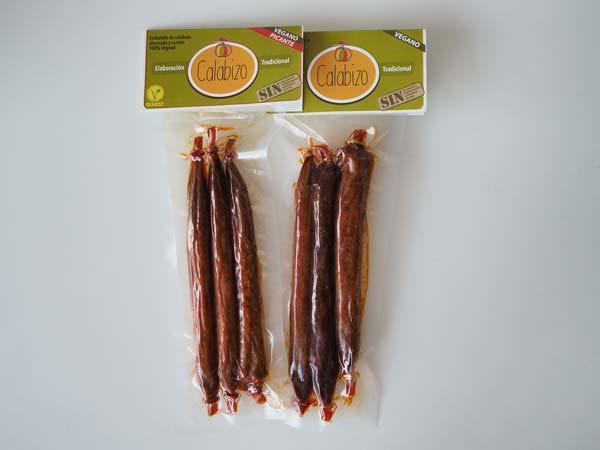 Chorizo vegetal gallego Calabizo