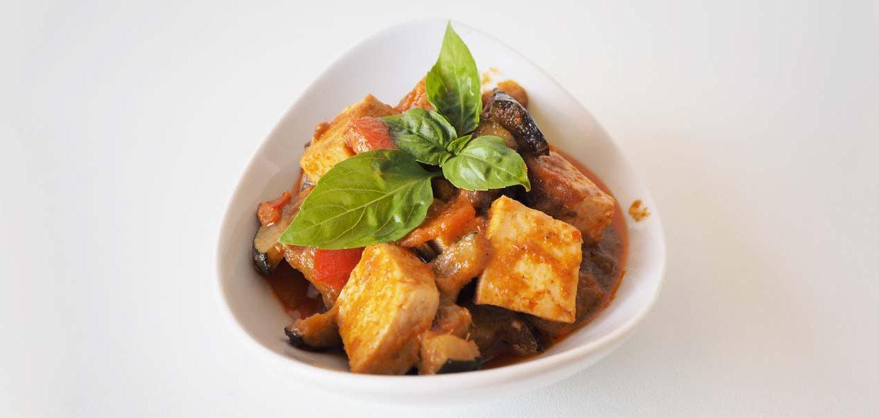 Primeros platos con tofu