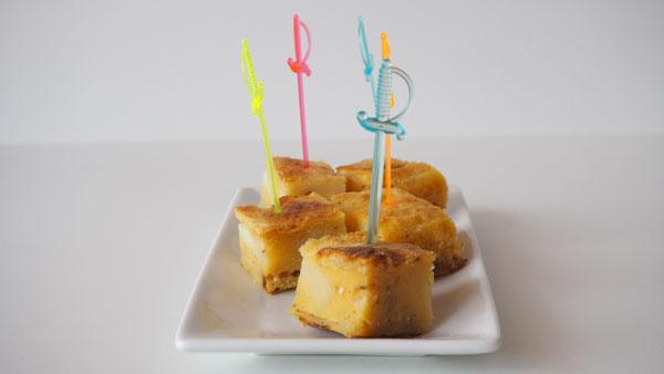 Tortilla de papas española y vegana