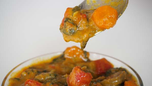 guiso de verduras al curry
