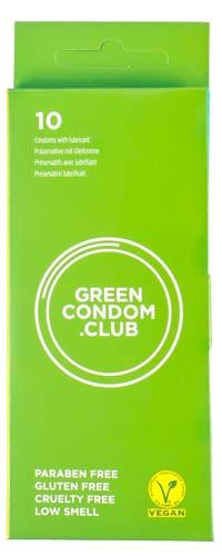 Green Condom Club, condones veganos sin parabenos y sin gluten