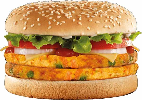 Bocadillo vegetal de Burger King apto para veganos y vegetarianos