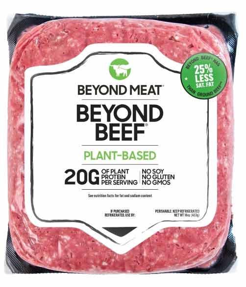 Carne vegana Beyond Beef