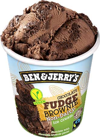 Helado vegano chocolate brownie de Ben & Jerry's