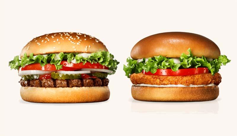 Hamburguesas veganas de Burger King