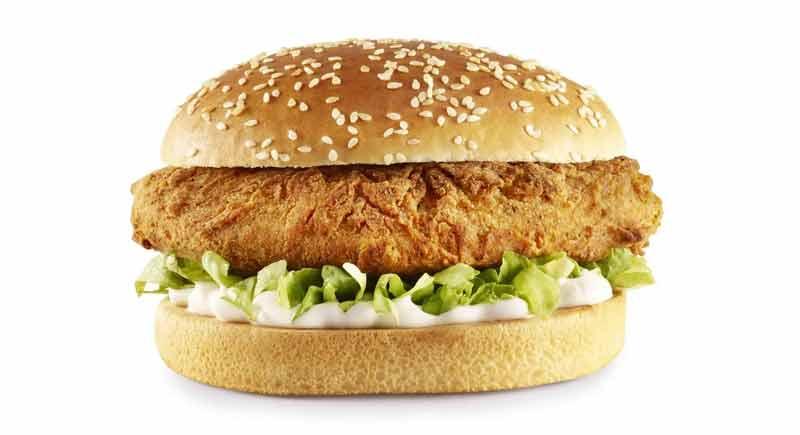 The Imposter, la hamburguesa vegetal KFC