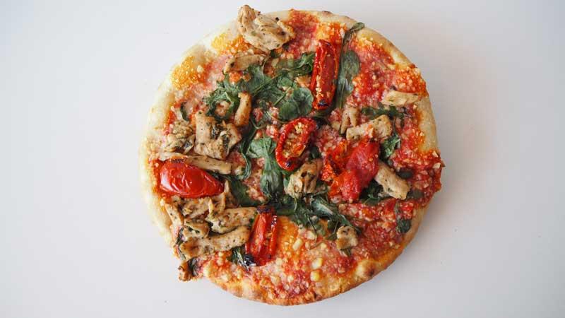 Pizza vegetal Hacendado para veganos y vegetarianos