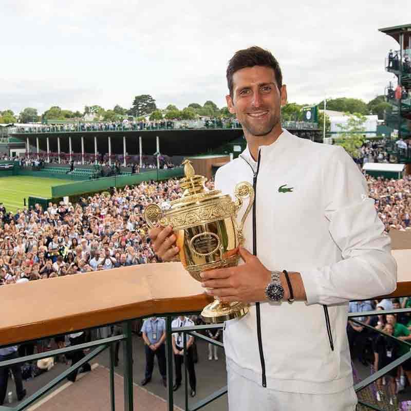Novak Djokovic campeón vegano en Wimbledon