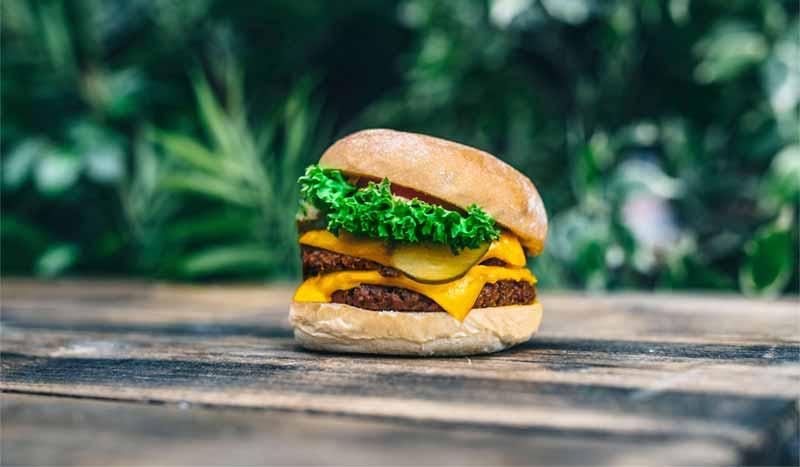 Hamburguesa vegana Neat Burger