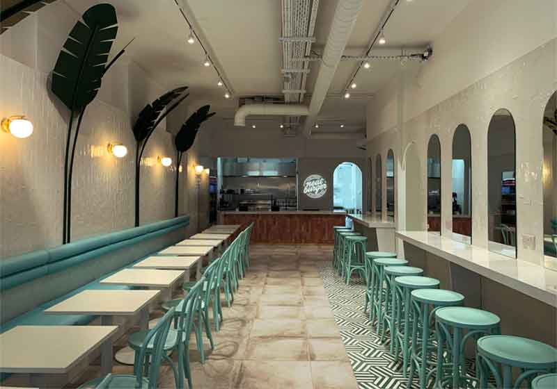 Local de comida rápida Neat Burger
