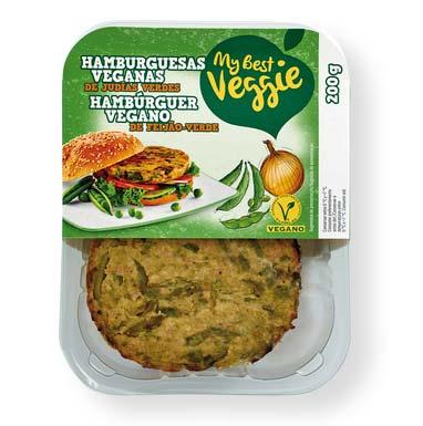 Caja hamburguesa vegetal My Best Veggie