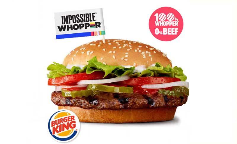 Impossible Whopper de Burger King