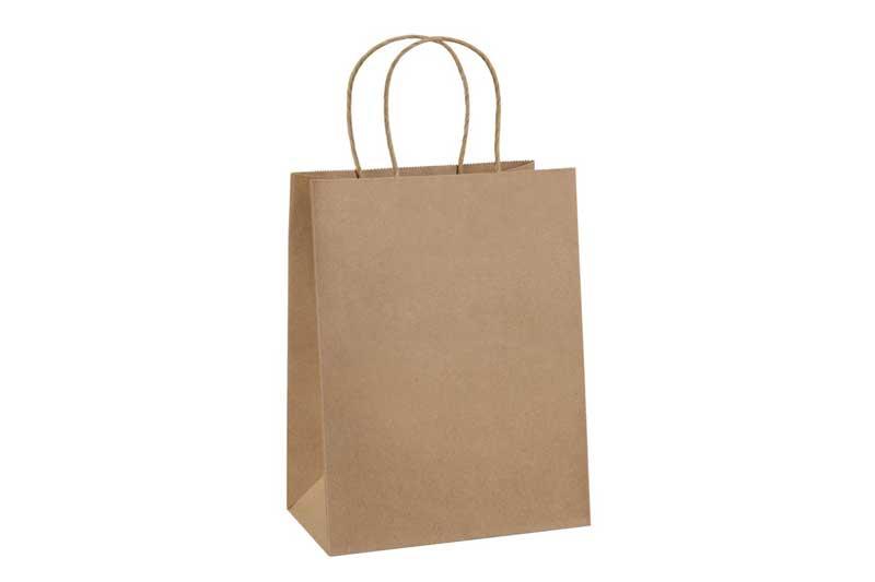 Bolsa de papel biodegradable - Alternativa a la bolsa de plástico