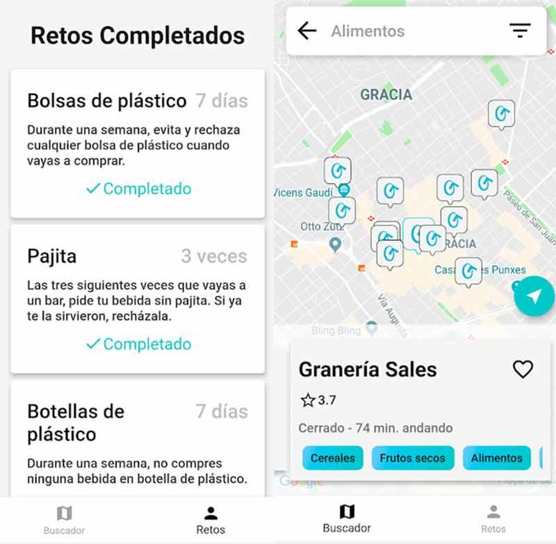 Go Zero Waste App - cómo funciona