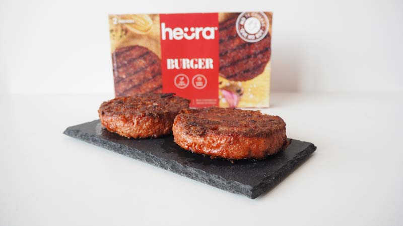 Hamburguesa de carne vegana Heura Food for Tomorrow