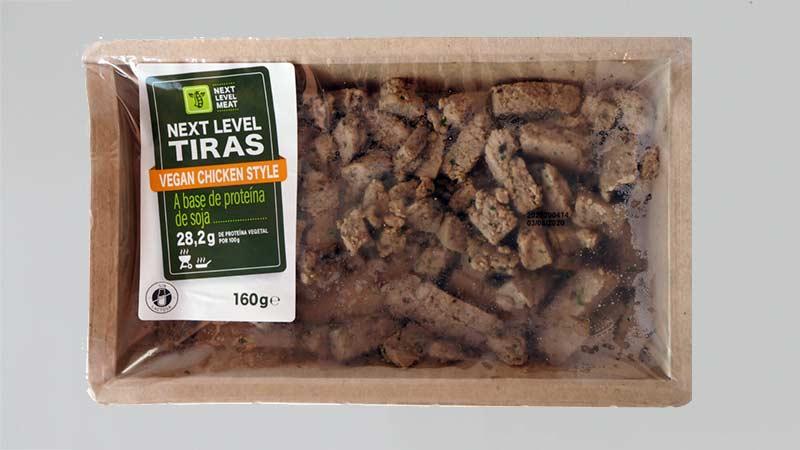 Tiras veganas de no-pollo de Lidl (Next Level)