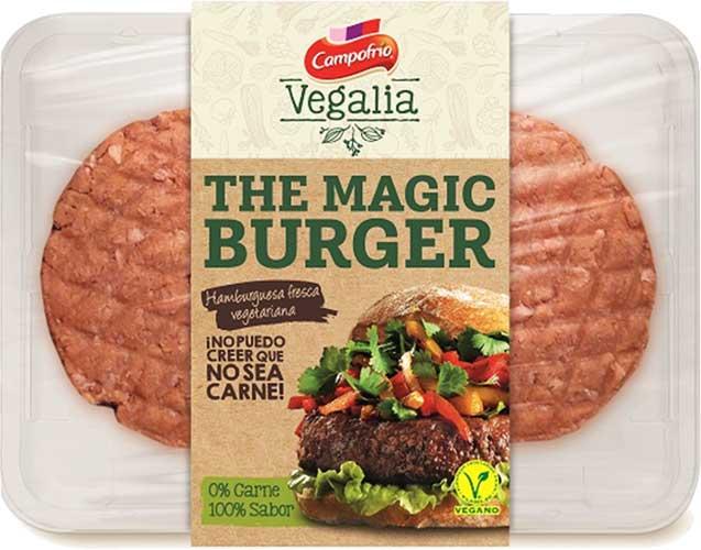 Hamburguesa Vegana de Campofrio/Vegalia