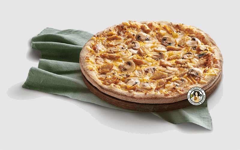 Telepizza vegana: Montana Vegui