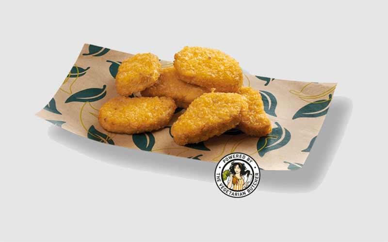 Nuggets vegetales de Telepizza